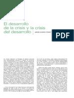 [1980] André Gunder Frank. El desarrollo de la crisis y la crisis del desarrollo (en Comercio Exterior, vol. 30, n° 3, marzo de 1980, págs. 234-244)