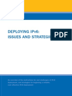 dep_ipv6_Deploying IPV6 Issues and Strategies