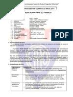 Programa Anual EPT 1er. Año 2014