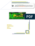 Manual de Plant as Medicinal Es