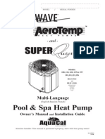 Aquacal Heat Pump Manual Multilanguage
