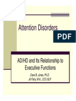 Attention Disorders