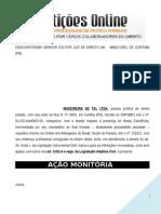 Ação Monitória - Cheque Prescrito