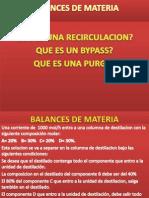 Bypass - Recirculacion- Purga