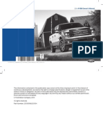 2014 F150 Owners Manual