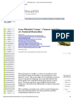 Low Platelet Count -- Causes and Top 10 Natural Remedies.pdf