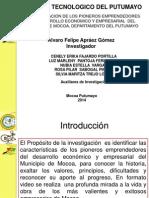 Pioneros Del Desarrollo Economico Del Municipio de Mocoa Putumayo