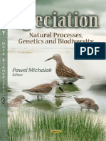 Speciation Natural Processes, Genetics and Biodiversity