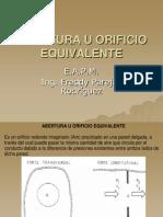 Abertura u Orificio Equivalente (2)