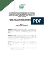 Normas Para La Elaboración y Presentación Del Proyecto Especial de Grado o Trabajo de Grado