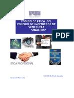 PSM CODIGO de ETICa Del Ingeniero en Venezuela