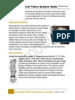 Tattoo Symbol Guide