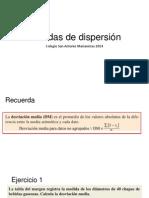 Medidas de Dispersión Editado