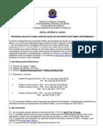 Edital - Conc Prof. Subst 2012