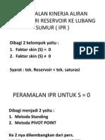 Peramalan IPR
