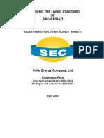 SEC Corporate Plan 2004-2007