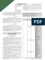 Portaria N°481 de 2014 - Mínimo hogares para apagón analógico