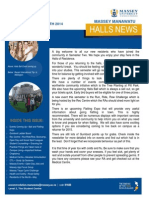 Halls News Issue Four 2014