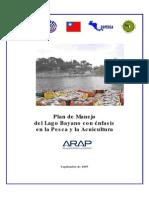 Plan de Manejo Lago Bayano, Pesca y Acuicultura