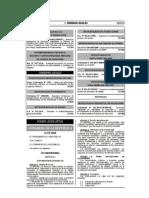 Ley N° 30220 Universitaria del Perú 2014