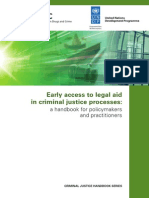 eBook-early Access to Legal Aid