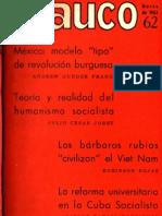 [1965 (1962)] Andrew Gunder Frank. México