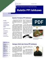 Buletin PPI Ishikawa No. 1 2013 Nov 20131