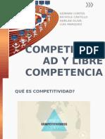 Competitividad y Libre Competencia
