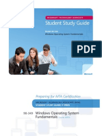98-349 Windows OS Study Guide