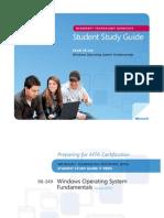 98-349 Windows OS Study Guide