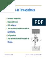 Aula06_2aLei[1] Da Termodinâmica