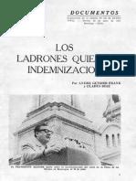 [1971] André Gunder Frank & Gladys Díaz. Los ladrones quieren indemnización (En