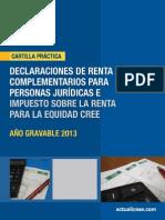 CP 03 2014.Declaracion Renta Personas Juridicas y Cree