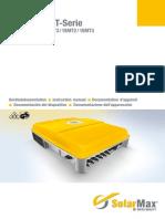 Solarmax MT Series Instruction Manual VICO EXPORT SOLAR ENERGY