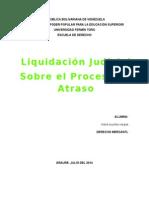Liquidación Judicial