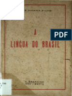 A Lingua Do Brasil_Luiz Vianna Filho_1936