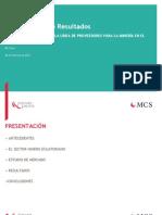 Estudio Especializado Línea Proveedores a La Minería en Ecuador - MC Stern