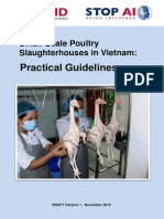 Small Scale Poultry Slaughtering Practical Guidelines (DEC 2010 - En)