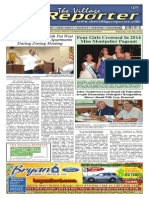 The Village Reporter - July 16th, 2014