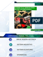 Hacia Donde Va El Derecho Penal Militar