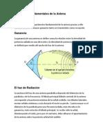 Parámetros Fundamentales de La Antena