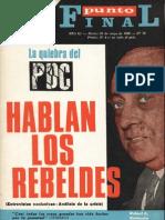 [1969] André Gunder Frank. Visión marxista de la historia chilena (Punto Final n° 79, 20 de mayo, págs. 20-21)