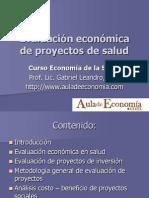 Evaluación Económica de Proyectos de Salud (1)