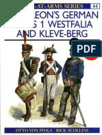 Osprey - Nap - Napoleon's German Allies (1) Westfalia and Kleve-Berg