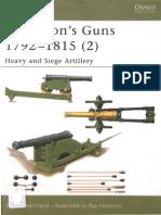 Osprey - New Vanguard 076 - Napoleon's Guns 1792-1815 (2) Heavy and Siege Artillery