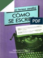 Maria Teresa Serafine Como Se Escribe x Eltropical