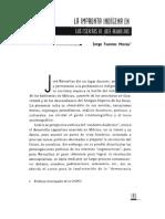 La Impronta Indigena en Los Escritos de José Revueltas. Jorge Fuentes Morúa.