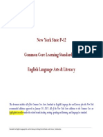 p12 common core learning standards ela