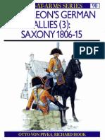 PDF - Osprey - Men-At-Arms - 090 - 1979 - Napoleon's German Allies (3) - Saxony 1806-1815 (Repr. 1991, Miss.p.1-2)
