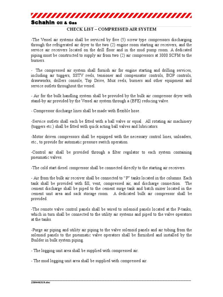 Spec Comp Air SYS | Gas Compressor | Valve